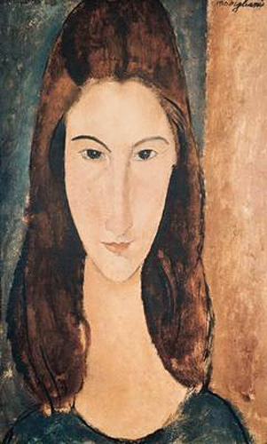 Amadeo Modigliani - Portrait of a Young Girl