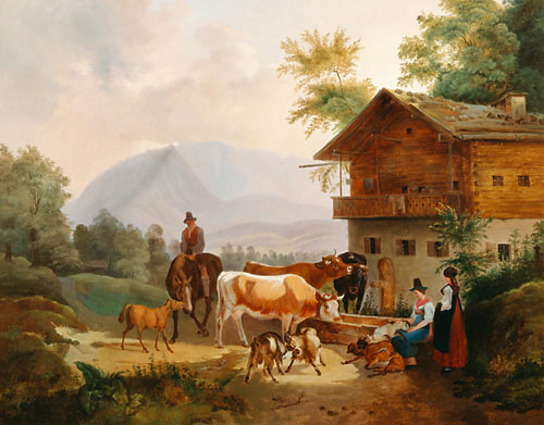 Max J. Wagenbauer - Races at the watering place