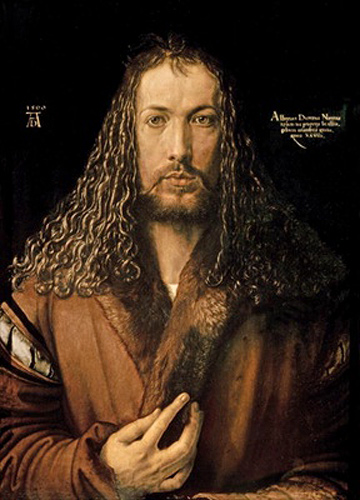 Albrecht Dürer - Self Portrait at the Age of Twenty-Eight