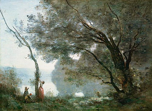 Jean Baptiste Camille Corot - Souvenir of Montefontaine