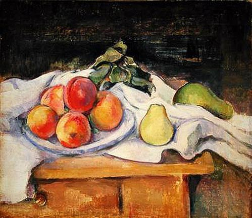 Paul Cézanne - Still Life with Peaches and Pears