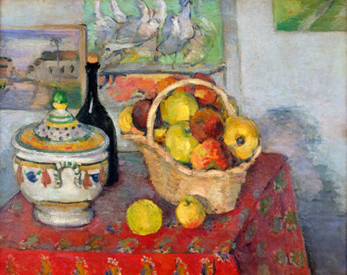 Paul Cézanne - Still Life with Tureen