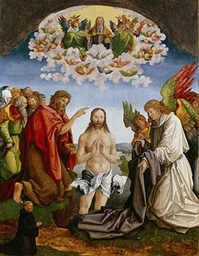 Albrecht Dürer - The Baptism of Christ