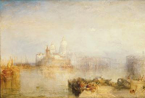 Joseph Mallord William Turner - The Dogana and Santa Maria della Salute, Venice
