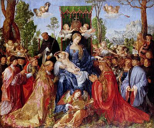 Albrecht Dürer - The Festival of the Rosary