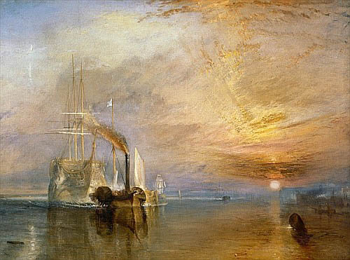 "Joseph Mallord William Turner - The ""Fighting Temeraire"" Tugged to her Last Berth"