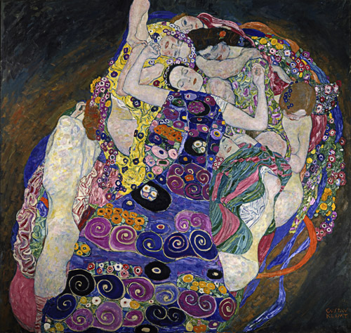 Gustav Klimt - The maiden