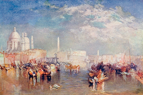 Joseph Mallord William Turner - Venice