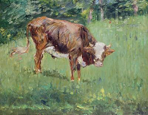 Edouard Manet - Young Bull in a Meadow